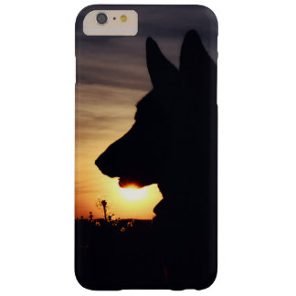 Beautiful German Shepherd in the Sunset Barely There iPhone 6 Plus Case