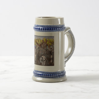 Beautiful giants beer stein