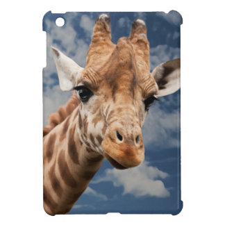 BEAUTIFUL GIRAFFE FACE, SWEET CUTE FACE iPad MINI CASE