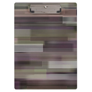 Beautiful Glitter Squares Rainbow Mosaic Abstract Clipboard