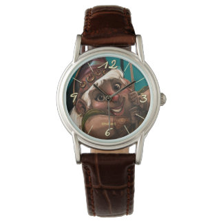 Beautiful Gnomo Clock Watch