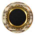 Beautiful Gold and Black Ceramic Knob
