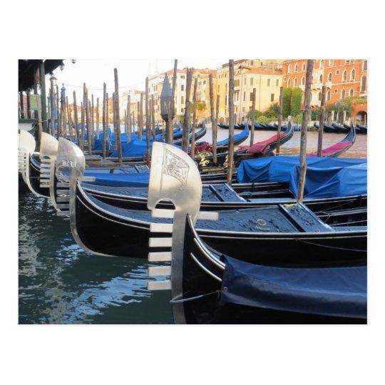 Beautiful gondolas! postcard