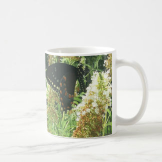 Beautiful Good Morning Butterfly Mug! Coffee Mug