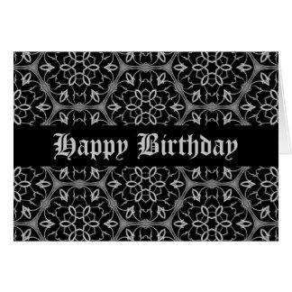 Beautiful Gothic birthday Card