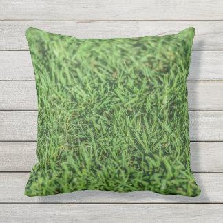 Beautiful Grassy Green Outdoor Cushion