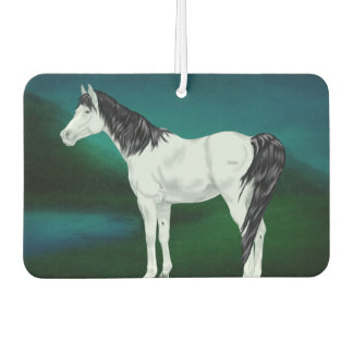 Beautiful Gray Arabian Horse Air Freshener