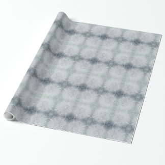 Beautiful gray frost design wrapping paper