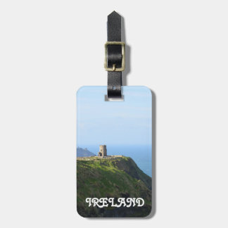 Beautiful Green Cliffs of Moher Luggage Tag