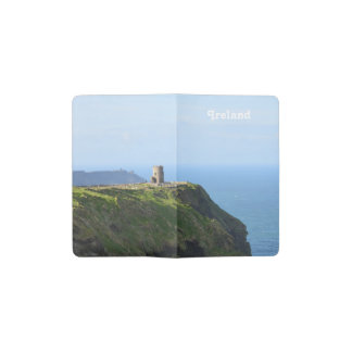Beautiful Green Cliffs of Moher Pocket Moleskine Notebook