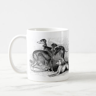 Beautiful Greyhounds Coffee Mug