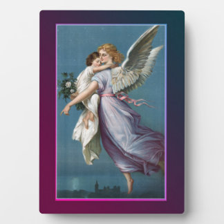 Beautiful Guardian Angel Plaque
