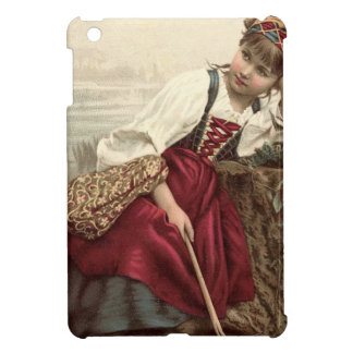 Beautiful Gypsy Girl at rest iPad Mini Cover