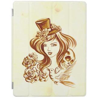 Beautiful Hand Painted Coffee Art iPad Smart Cover iPad Cover