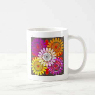 Beautiful HAPPY CHAKRA Sunflower Greetings GIFTS Classic White Coffee Mug
