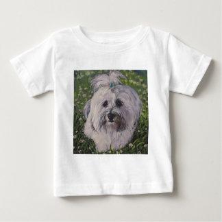 Beautiful Havanese Dog Art Baby T-Shirt