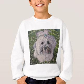 Beautiful Havanese Dog Art Sweatshirt