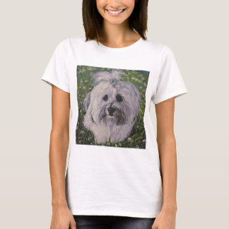 Beautiful Havanese Dog Art T-Shirt