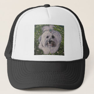 Beautiful Havanese Dog Art Trucker Hat