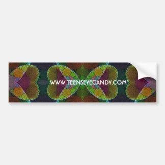 Beautiful Heart Abstract Bumper Sticker