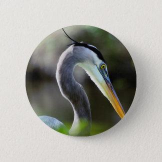 Beautiful Heron 2 Inch Round Button
