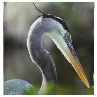 Beautiful Heron Napkin