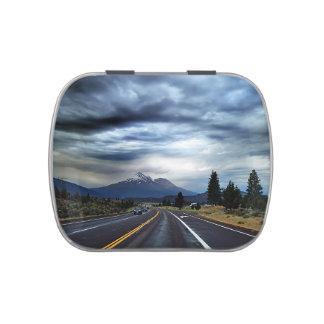Beautiful highway scenery