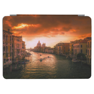 Beautiful historic venice canal, italy iPad air cover