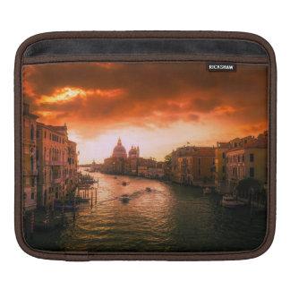 Beautiful historic venice canal, italy iPad sleeve