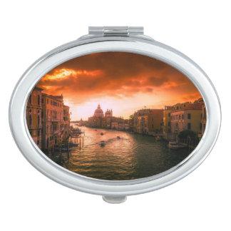Beautiful historic venice canal, italy travel mirrors