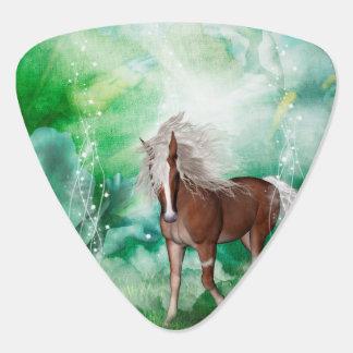 Beautiful horse in wonderland guitar pick