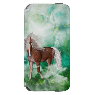 Beautiful horse in wonderland incipio watson™ iPhone 6 wallet case