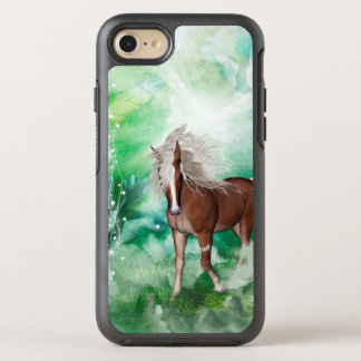 Beautiful horse in wonderland OtterBox symmetry iPhone 8/7 case