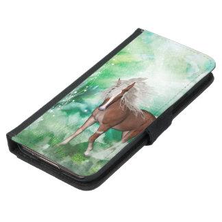 Beautiful horse in wonderland samsung galaxy s5 wallet case