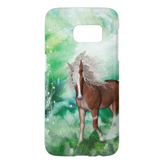Beautiful horse in wonderland samsung galaxy s7 case