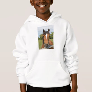 Beautiful horse kids, childrens sweatshirt, gift