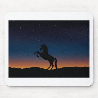 BEAUTIFUL HORSE STALLION MOUSE PAD