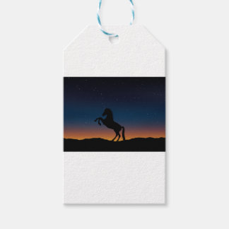 BEAUTIFUL HORSE STALLION PACK OF GIFT TAGS