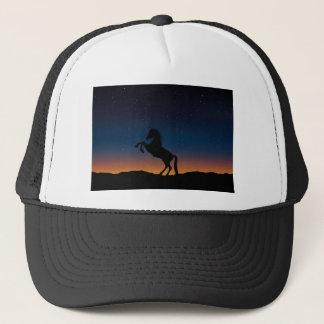 BEAUTIFUL HORSE STALLION TRUCKER HAT