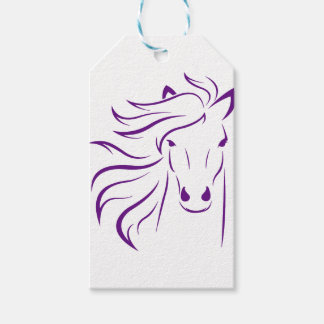 Beautiful Horse with Glamorous Mane Gift Tags