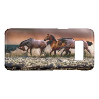 Beautiful Horses Running on the Beach Animals Case-Mate Samsung Galaxy S8 Case
