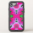 Beautiful Hot Pink Abstract OtterBox Defender iPhone 8/7 Case
