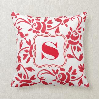 Beautiful Hungarian Art Throw Pillow
