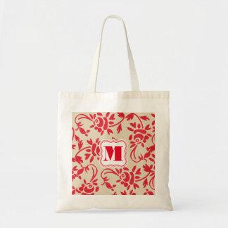 Beautiful Hungarian Art w/Monogram Tote Bag