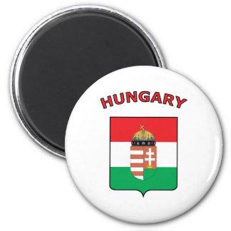 Beautiful Hungary 2 Inch Round Magnet
