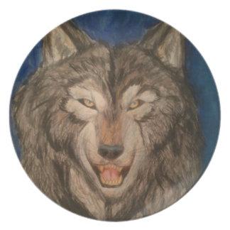 beautiful hunter party plate