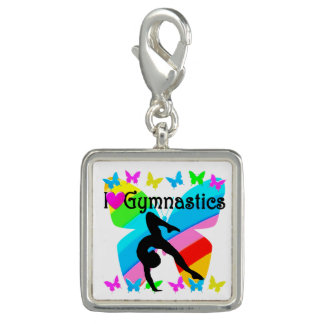 BEAUTIFUL I LOVE GYMNASTICS DESIGN CHARM