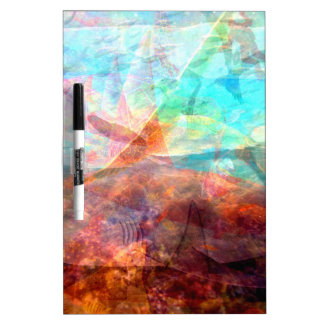 Beautiful Inspiring Underwater Scene Art Dry Erase Board
