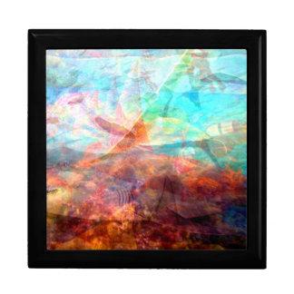 Beautiful Inspiring Underwater Scene Art Gift Box