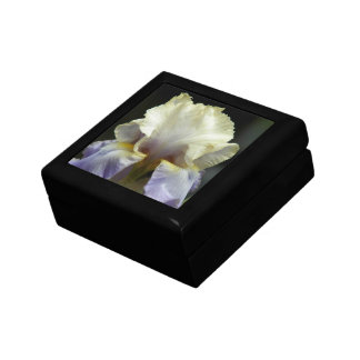 Beautiful Iris Floral Jewelry Boxes